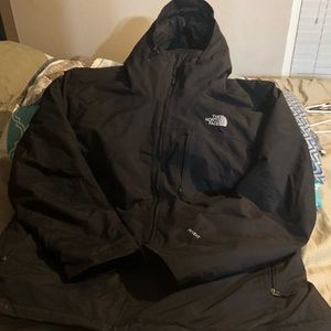 North Face Hyvent jacket w/ liner
